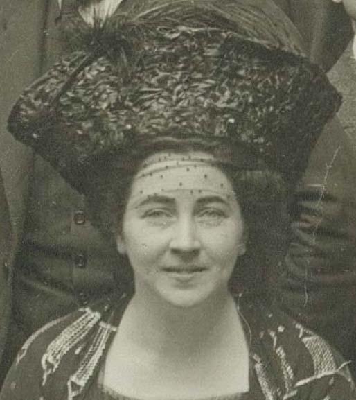 Maria von Stach, 1911 auf dem Weimarer IPV-Kongress