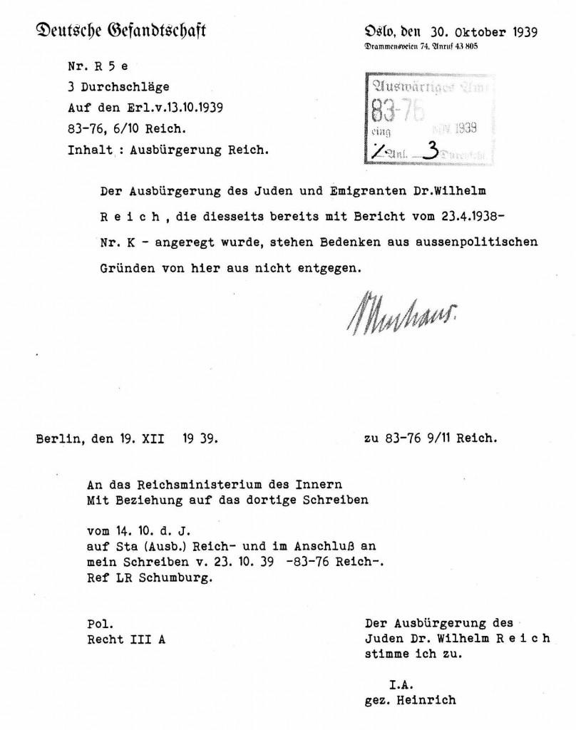 Reich Ausbürgerung 2 klein