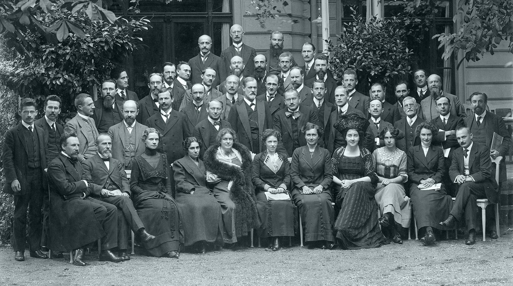 Franz Vältl: Kongressfoto 1911, zur Verfügung gestellt von Michael Schröter. Philosophie