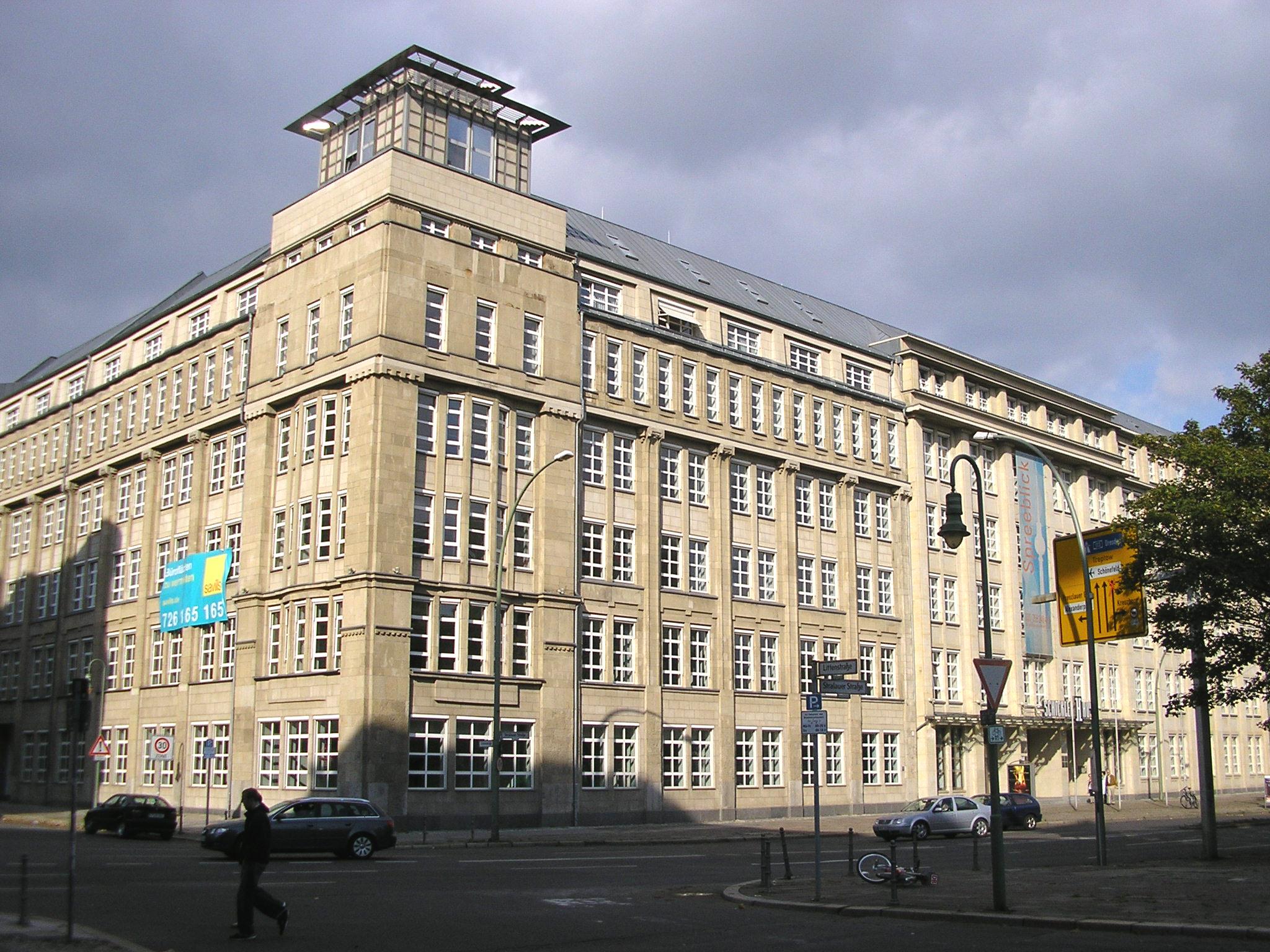 Das Schickler-Haus in Berlin-Mitte, in dem sich die MASCH-Zentrale befand.