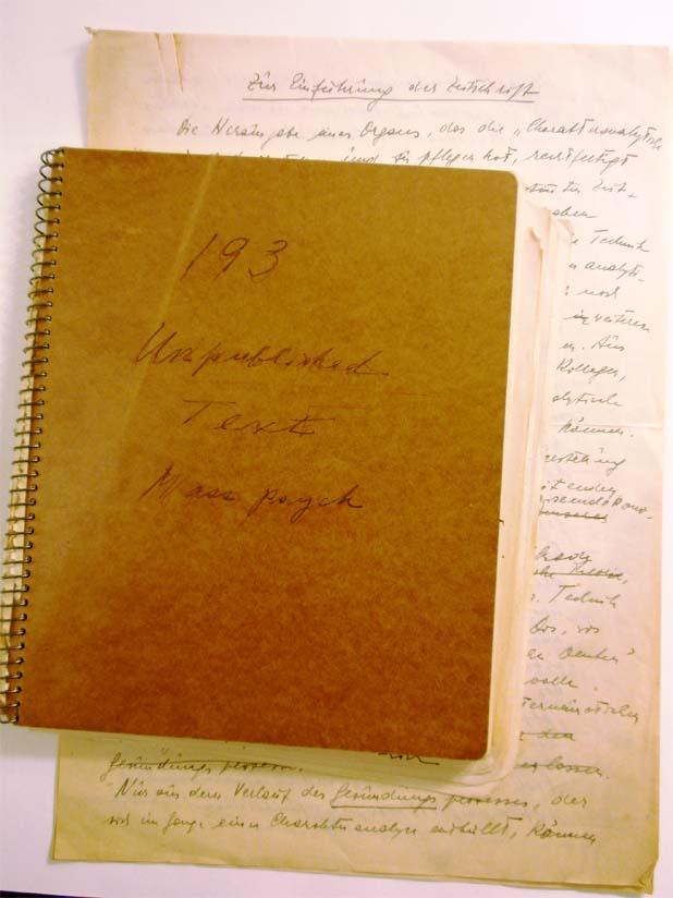 Noch zu hebender Schatz: Unveröffentlichtes Reich-Manuskript