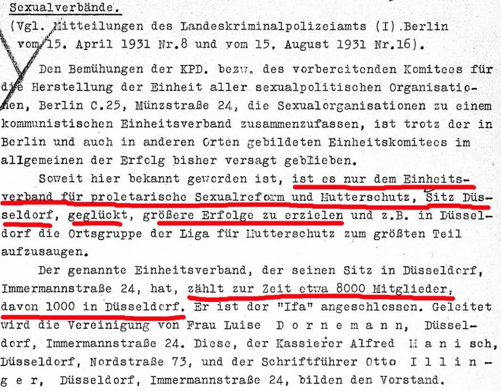 Quelle: Bundesarchiv Berlin, R1501/20979, Blatt 27. Sexpol