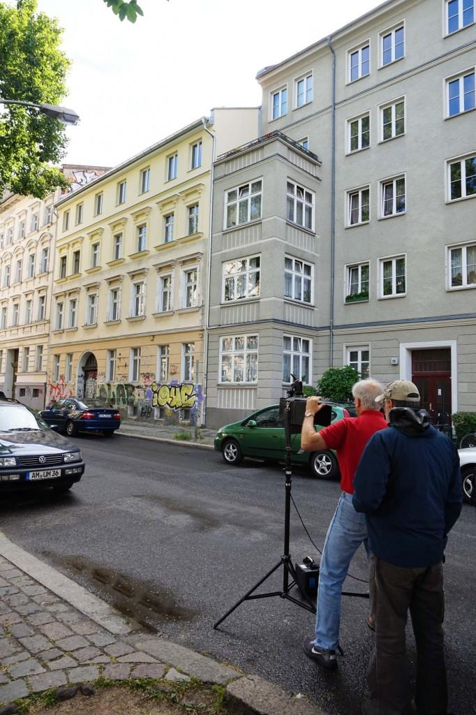 Die frühere, damals zu Lichtenberg gehörende Friedrich-Karl-Straße, heutige Colbestraße Nr. 23 in Berlin-Friedrichshain: das einzige noch erhalten gebliebene der Häuser, in denen sich eine der von Reich geleiteten Sexualberatungsstellen befand.