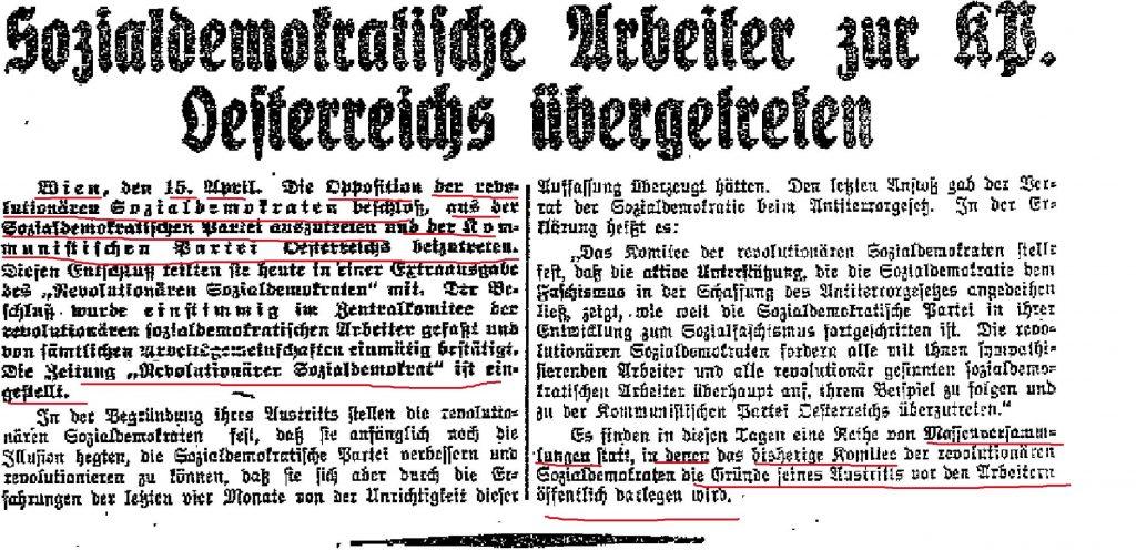 Rote Fahne (Deutschland), 16.4.1930