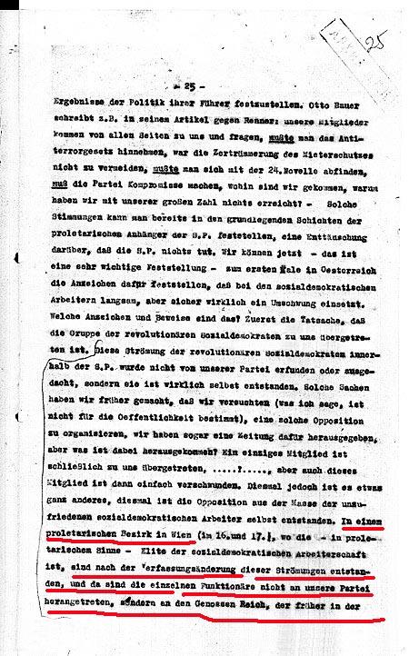Schüller über Reich 1930 1