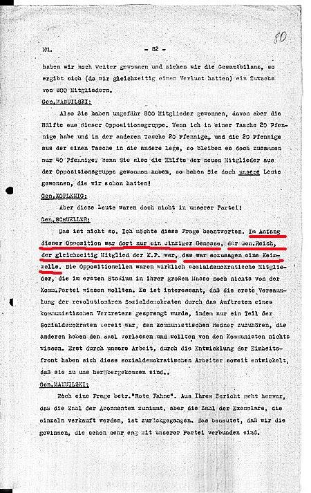 Schüller über Reich 1930 3