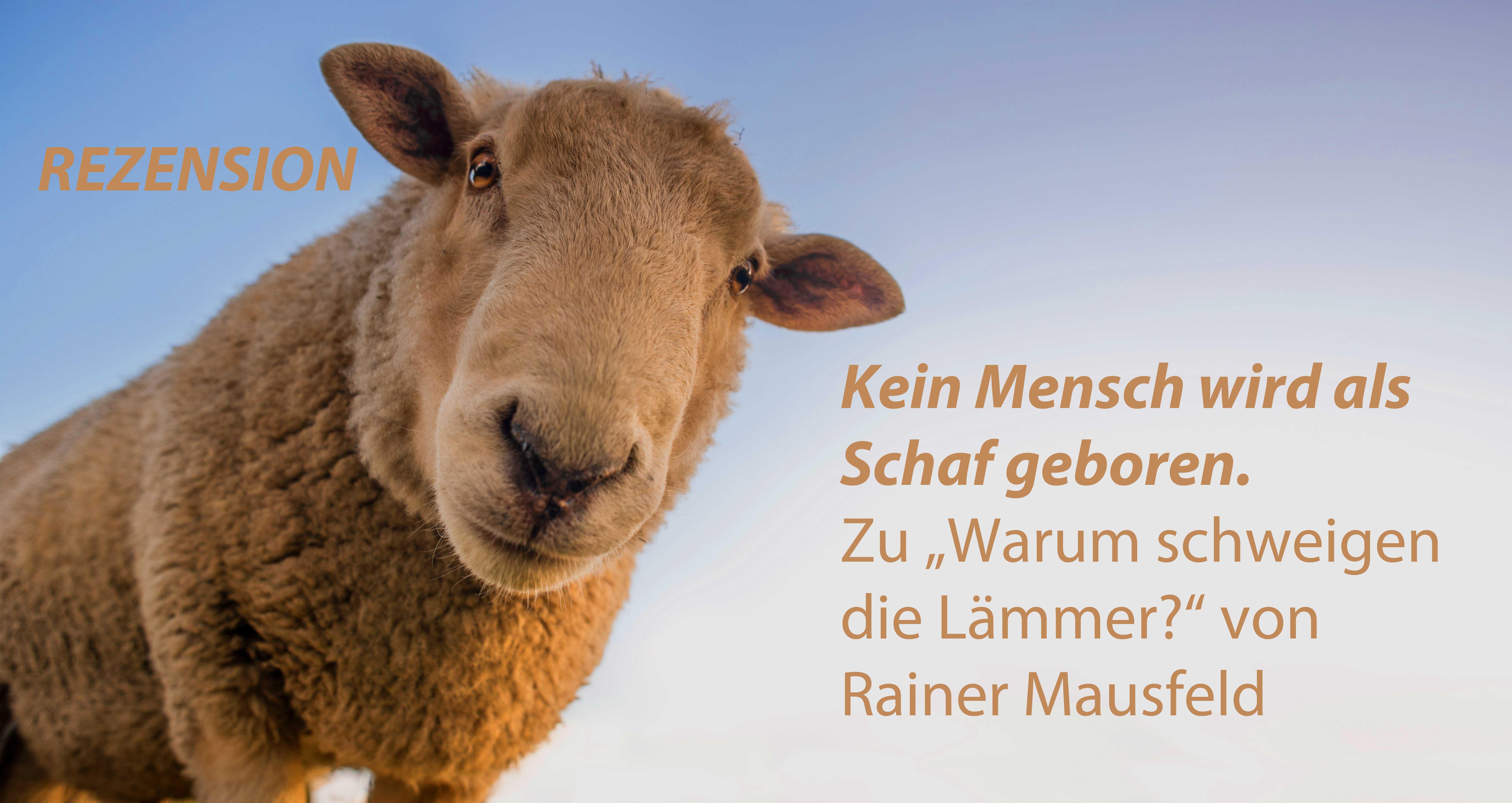 """Kein Mensch wird als Schaf geboren. Zu """"Warum schweigen die Lämmer?"""" von Rainer Mausfeld."""