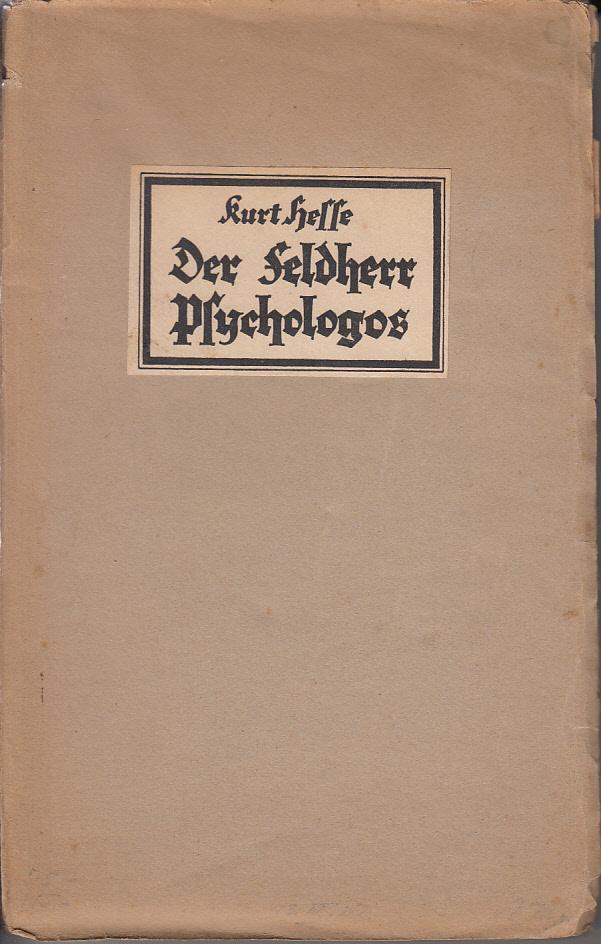 Psychologos Hesse Psychoanalyse im Nationalsozialismus