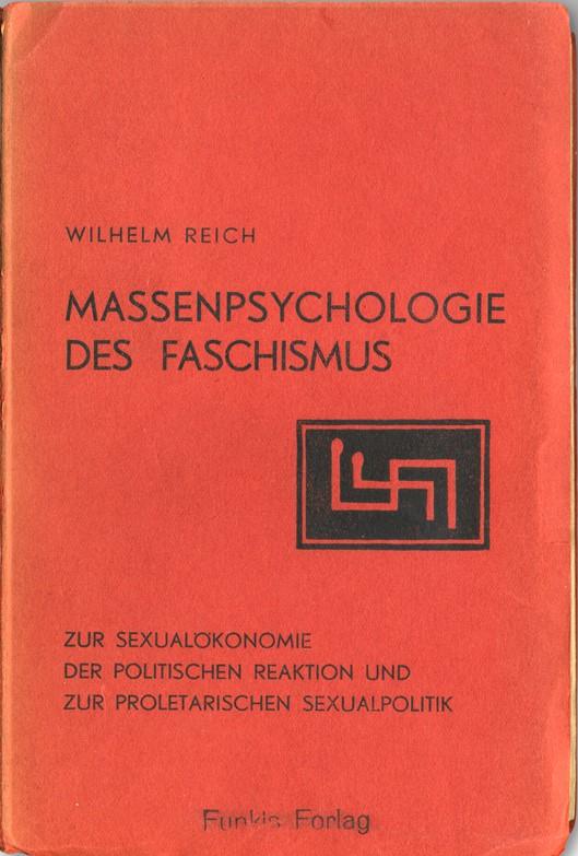 Massenpsychologie Originalumschlag